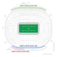 Eastern Michigan University Convocation Center Seating Chart Michigan Stadium Suites For Rent Suite Experience Group