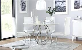 marble dining room savoy round white marble and chrome dining table with 4 white chairs used marble dining room
