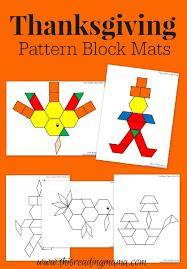 Pattern Block Mats