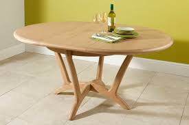 oval expandable dining room table