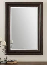 adalwin dark bronze mirror by uttermost 32 x 44