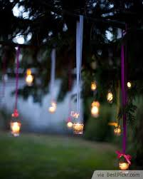 hanging tree candlelights bestpickr com outdoor party lighting ideas