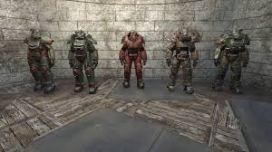 Power Armor Display Stand Power Armor Animation Changes At Fallout 100 Nexus Mods And Community 20