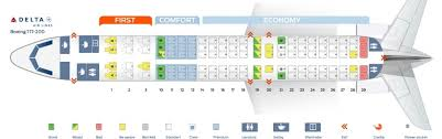 Delta Airlines Aircraft Seating Chart Stylish And Interesting Delta Seating Chart Seating Chart
