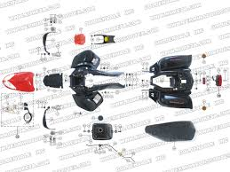 roketa atv 04 250 body parts