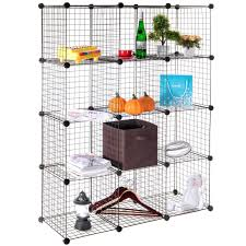 Grid Wire Modular Shelving And Storage Cubes Versatile Grid. Wire .