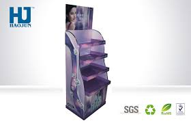 Mask Display Stand Retail Store Paper Corrugated Cardboard Display Stand For Cosmetic 78