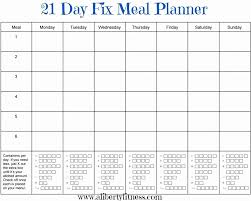 Daily Schedule Template Free Awesome Unforgettable Meal Plan Template Printable Templates 48 Day Fix