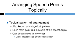 Topical Pattern Interesting A POCKET GUIDE TO PUBLIC SPEAKING 48TH EDITION Chapter Ppt Video