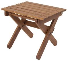 beautiful outdoor folding side table with wood kc