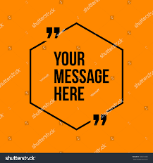 Innovative Vector Quotation Template Quotes Against Stock Vector ...