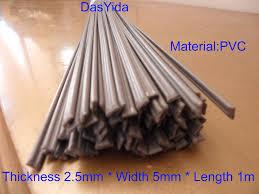 Free shipping <b>30 PCS grey PVC</b> Plastic welding rods/PVC welder ...