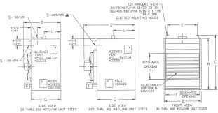 dayton sterling qvf gas unit heater information sterling qvf gas unit heater