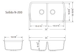 average sink size. Unique Average Kitchen Sink Width Decco Voiceoverservices Co Model Average Size  To