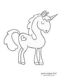 There are also more intricate valentine. Top 100 Magical Unicorn Coloring Pages The Ultimate Free Printable Collection Print Color Fun