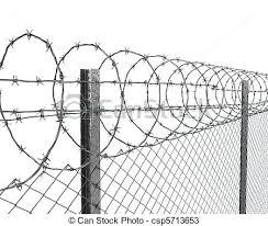 picket fence drawing. Fence Drawing With Barbed Wire On Top Closeup Chain Link Drawings Cad . Picket