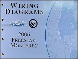 ford star mercury monterey wiring diagram manual original