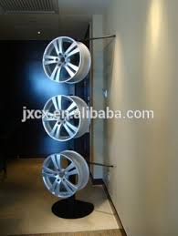 Alloy Wheel Display Stand Alloy Wheels Display Rack With Banner Buy Rim Display RackWheel 4