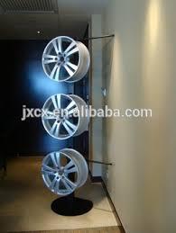 Alloy Wheel Display Stand Alloy Wheels Display Rack With Banner Buy Rim Display RackWheel 4