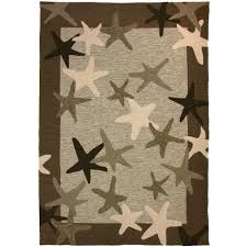 Living Room Rugs Walmart Flooring Rugs Homefires Starfish Field Outdoor Rug 5x7 For