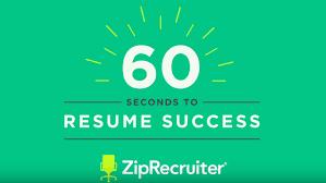 Ziprecruiter Resume The Perfect Resume In Under 24 Seconds ZipRecruiter 10