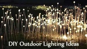 diy garden lighting ideas. outdoor pole lighting ideas diy to light your diy garden