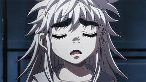 female anime characters with white hair. Brilliant Hair 15 Anime Characters With Big Eyebrows  Komugi Hunter X 2011 For Female With White Hair I