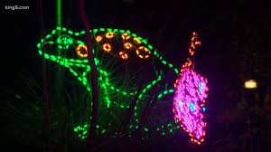 Zoo Lights Seattle Wildlights Begins At Woodland Park Zoo