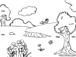nature coloring books free printable nature coloring pages