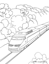 96 Dessins De Coloriage Train Ter Imprimer