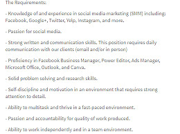 Marketing Officer Job Description Adorable 48 Step Guide To Hiring A Freelance Social Media Manager