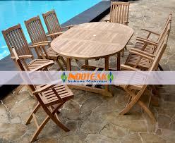 garden sets teak large rectangular extend table cm tables modern patio and furniture