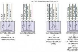 bosch oxygen sensor wiring diagram & bosch oxygen sensor o2 sensor harness connector at O2 Sensor Wiring Harness