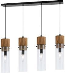 cal fx 3583 4 spheroid modern wood dark bronze multi ceiling light pendant loading zoom