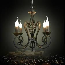 black vintage chandelier vintage luminaria decoration wrought iron res pendant