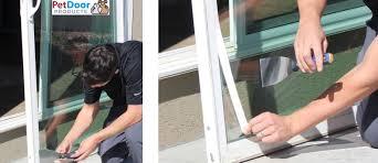 step 1 pet door installation dog door installation pet door s