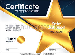 Star Of The Month Certificate Template Star Templates Download Free Vector Art Stock Graphics Images