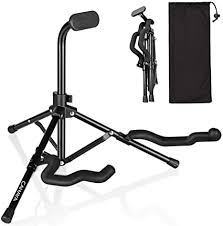 CAHAYA Guitar Stand Folding Tripod Metal Universal ... - Amazon.com