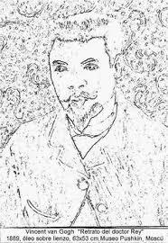 Van Gogh Self Portrait Coloring Pages Fresh 57 Best Famous Art