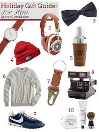 holiday gift guide for him laurenconrad