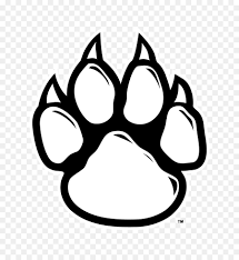 tiger paw clipart black and white. Contemporary Tiger Wildcat Tiger Paw Clip Art  Black Cliparts To Clipart And White R
