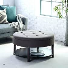 leather ottoman coffee table with storage round ottoman table circle ottoman coffee table awesome small round