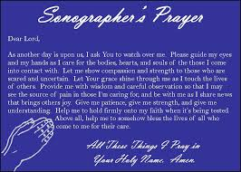 Sonographer S Prayer We Re Diagnostic Imaging Pros Not Nurses