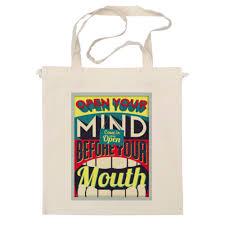 <b>Сумка</b> Open <b>your mind</b> before <b>your</b> mouth #2462977 от zen4@bk.ru