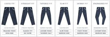 Baldwin Denim Size Chart