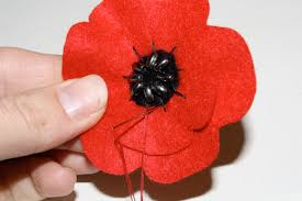 poppy template felt poppies for remembrance day tallys treasury