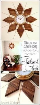 Mid Century Wall Decor Diy Living Room Decor Ideas Diy Colorful 3d Geometric Wall Art In
