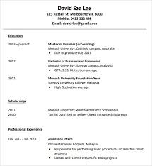 10 Accounting Resume Templates Free Samples Examples Format
