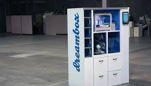 Printing Vending Machine Amazing Dreambox 48D Printer Vending Machine Inhabitat Green Design
