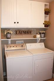 Very Small Laundry Room 25 Best Washer Dryer Shelf Ideas On Pinterest Dryers Farmhouse